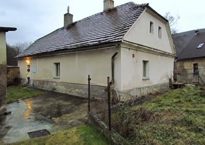 Takto dům vypadal při zakoupení