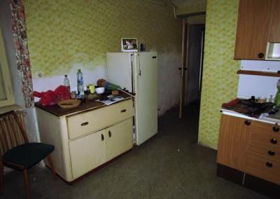 Kuchyně, stav při koupi domu