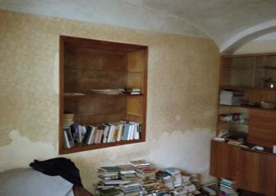 První pokoj, stav při koupi domu