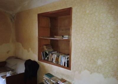 Stejný pokoj z jiného pohledu, stav při koupi domu