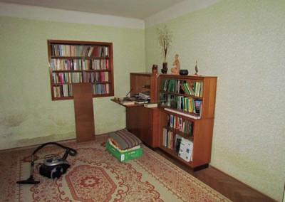 Druhý pokoj, stav při koupi domu